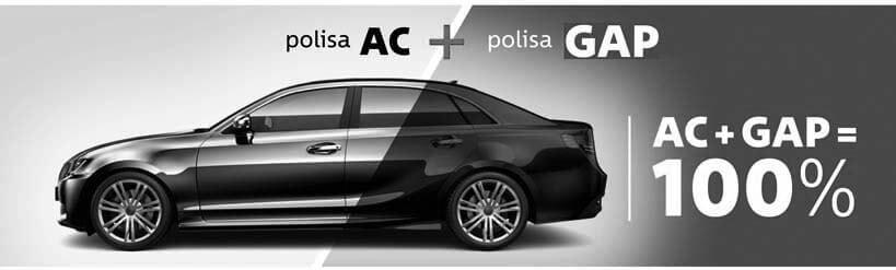 Cennik, warunki i kalkulacja ceny polis ubezpieczenia GAP samochodów osobowych i dostawczych do 3,5 tony
